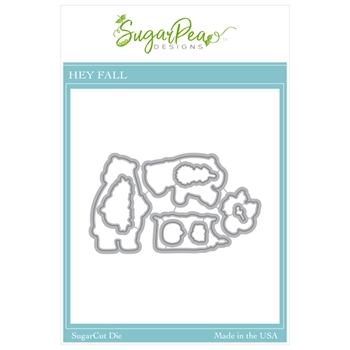 SugarPea Designs HEY FALL SugarCuts Dies spd00466