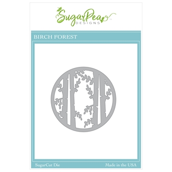 SugarPea Designs BIRCH FOREST SugarCuts Dies spd00467