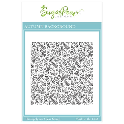 SugarPea Designs AUTUMN BACKGROUND Clear Stamp Set spd00468 Preview Image