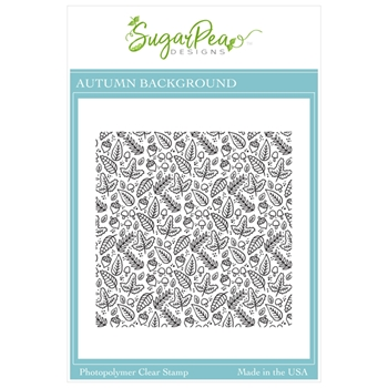 SugarPea Designs AUTUMN BACKGROUND Clear Stamp Set spd00468