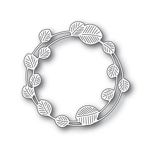 Simon Says Stamp ETCHED EUCALYPTUS WREATH Wafer Die s694 Stamptember Preview Image