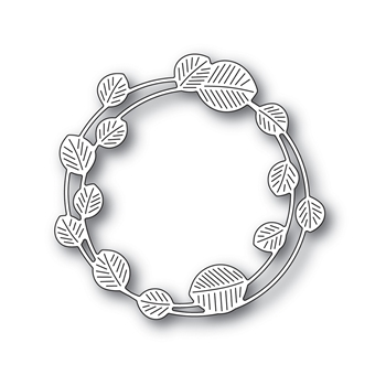 Simon Says Stamp ETCHED EUCALYPTUS WREATH Wafer Die s694 Stamptember