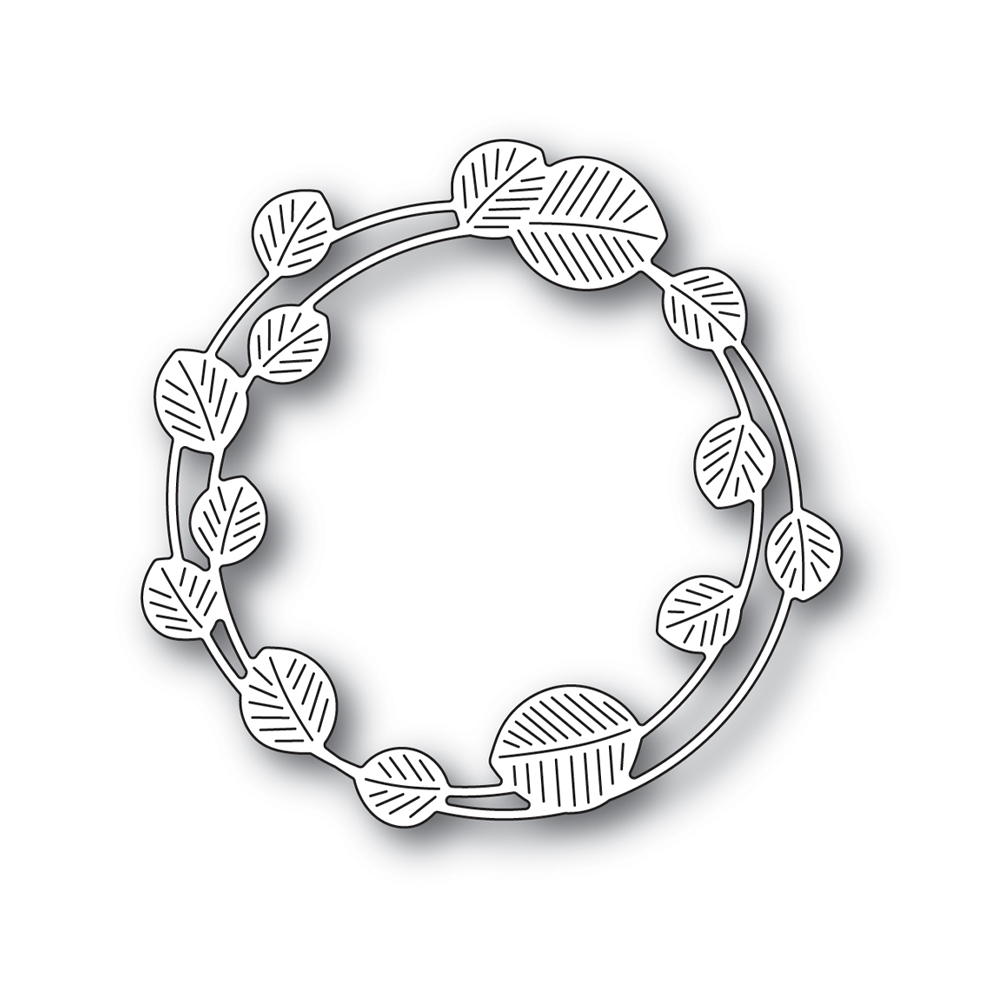 Simon Says Stamp ETCHED EUCALYPTUS WREATH Wafer Die s694 Stamptember zoom image