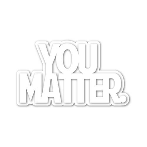 Simon Says Stamp YOU MATTER Wafer Dies sssd112171 Stamptember Preview Image