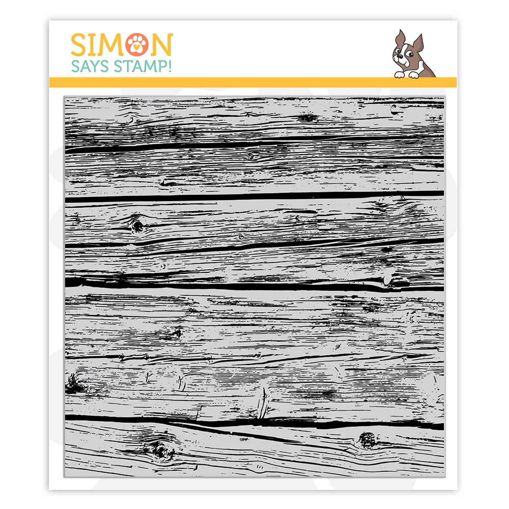Simon Says Cling Stamp WOOD PLANKS sss102160 Stamptember zoom image