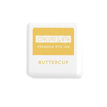 Concord & 9th BUTTERCUP Ink Cube 10867