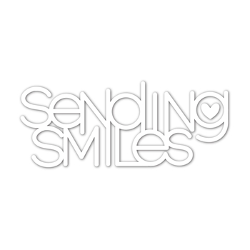 Simon Says Stamp SENDING SMILES Wafer Dies sssd112179 Stamptember