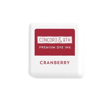 Concord & 9th CRANBERRY Ink Cube 10861