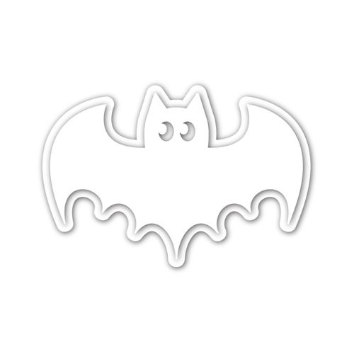 CZ Design BATTY Wafer Dies czd103 Stamptember Preview Image
