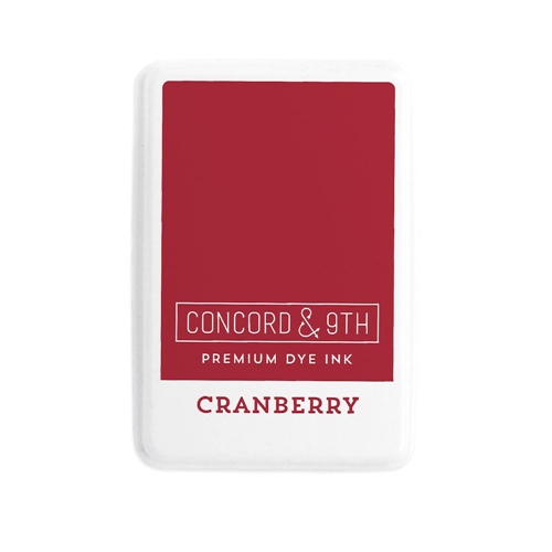 Concord & 9th CRANBERRY Ink Pad 10839 Preview Image