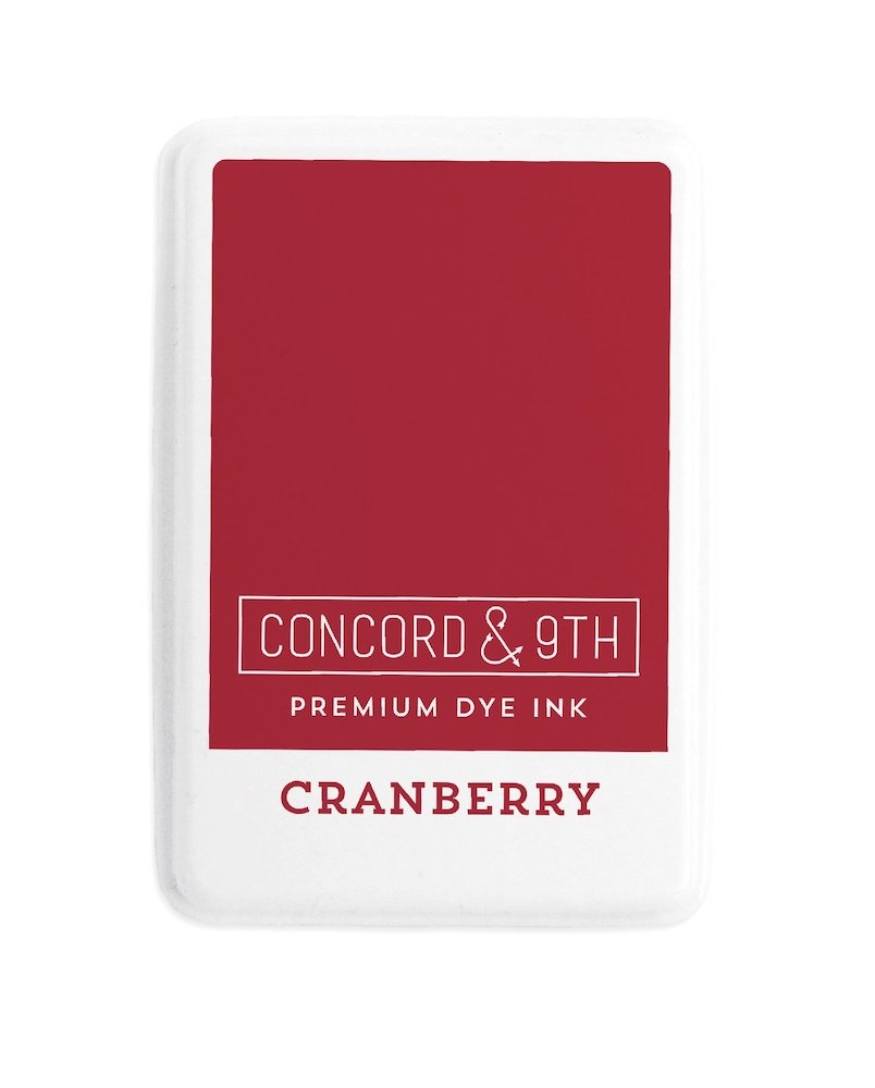 Concord & 9th CRANBERRY Ink Pad 10839 zoom image