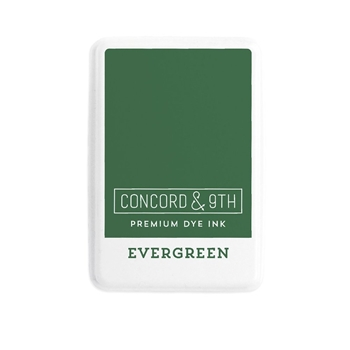 Concord & 9th EVERGREEN Ink Pad 10848