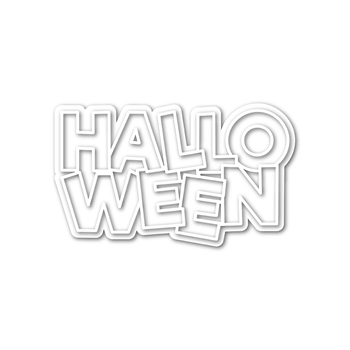Simon Says Stamp OUTLINE HALLOWEEN Wafer Dies sssd112188 Stamptember
