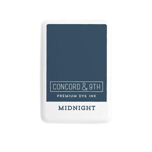 Concord & 9th MIDNIGHT Ink Pad 10854 Preview Image