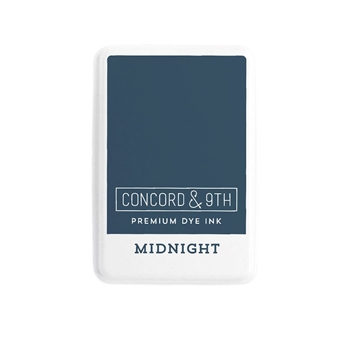 Concord & 9th MIDNIGHT Ink Pad 10854