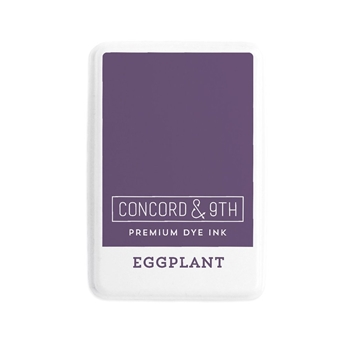 Concord & 9th EGGPLANT Ink Pad 10855