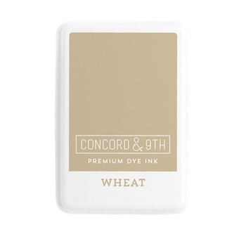 Concord & 9th WHEAT Ink Pad 10858