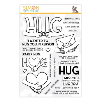 Simon Says Clear Stamps PAPER HUG sss202177c Stamptember