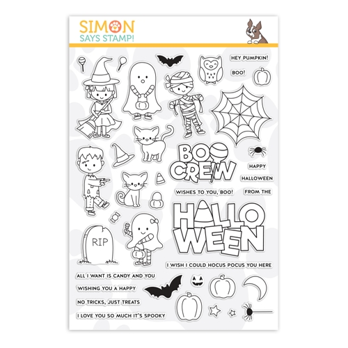 Simon Says Clear Stamps THE BOO CREW sss202156 Stamptember Preview Image