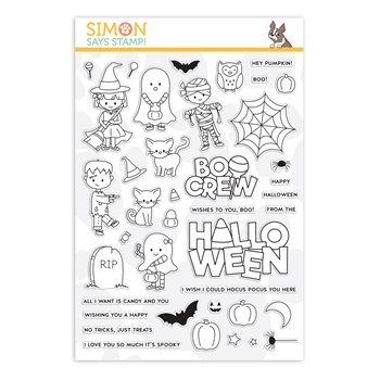 Simon Says Clear Stamps THE BOO CREW sss202156 Stamptember