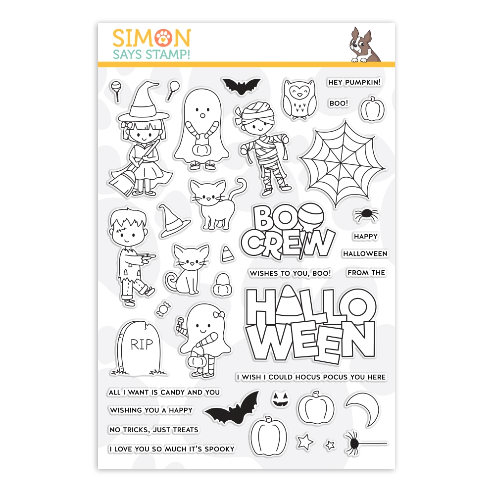 Simon Says Clear Stamps THE BOO CREW sss202156 Stamptember zoom image