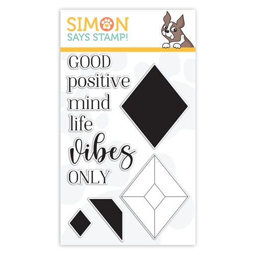 Simon Says Clear Stamps GOOD VIBES sss302242c Stamptember Preview Image
