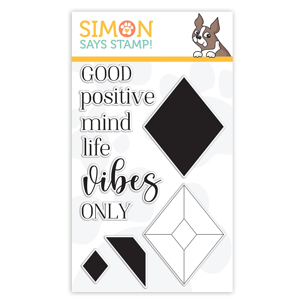 Simon Says Clear Stamps GOOD VIBES sss302242c Stamptember zoom image