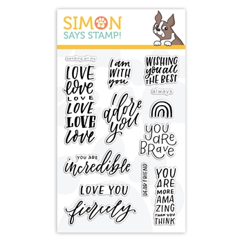 Simon Says Clear Stamps I AM WITH YOU sss302228 Stamptember