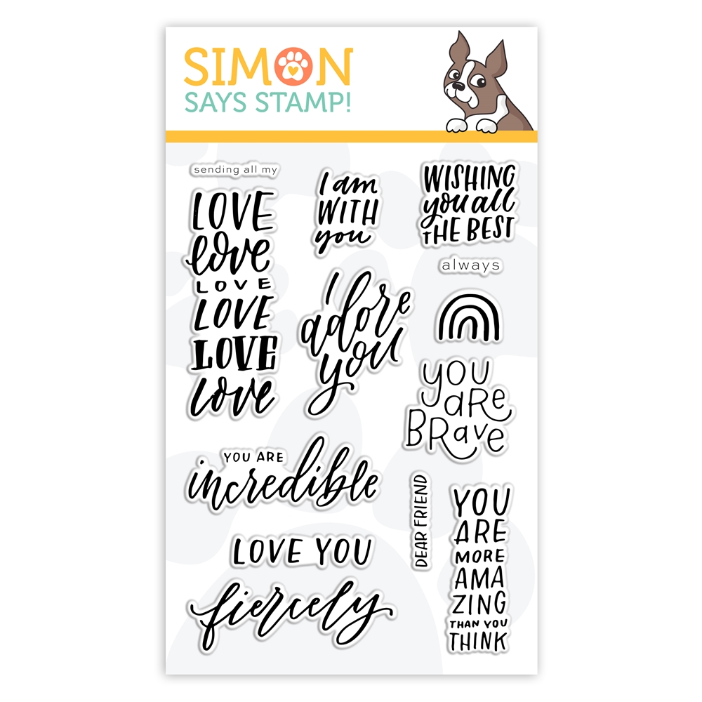 Simon Says Clear Stamps I AM WITH YOU sss302228 Stamptember zoom image