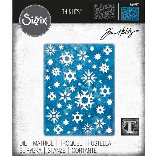 Tim Holtz Sizzix ARCTIC Thinlits Die 664967 Preview Image
