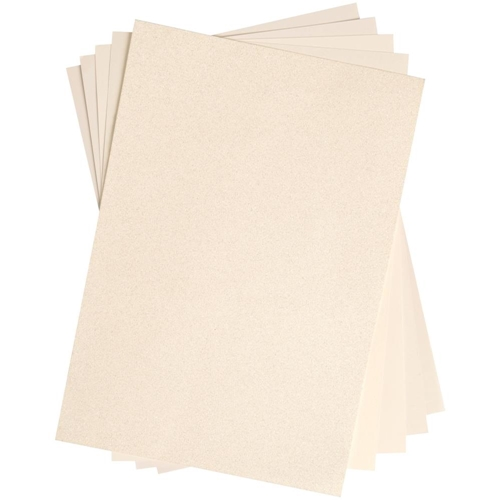 Sizzix IVORY Surfacez Opulent Cardstock 664535 Preview Image