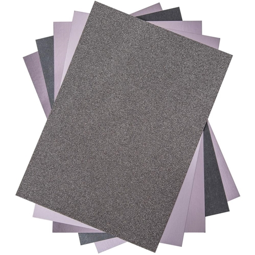 Sizzix CHARCOAL Surfacez Opulent Cardstock 664536 Preview Image