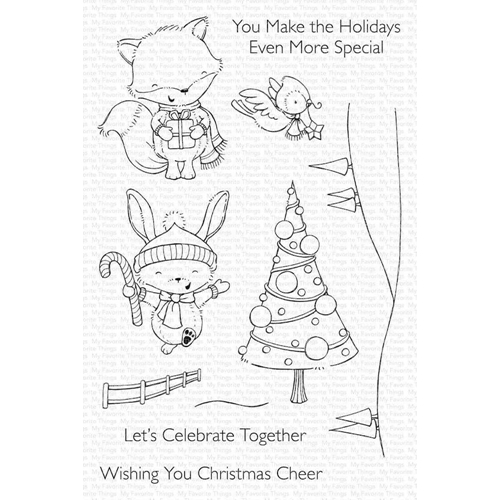 My Favorite Things CHRISTMAS CHEER Clear Stamps sy24 Preview Image