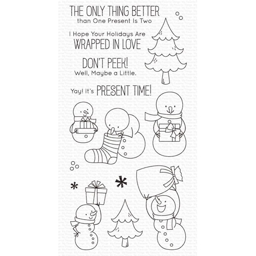 My Favorite Things PRESENT TIME Clear Stamps bb111 Preview Image