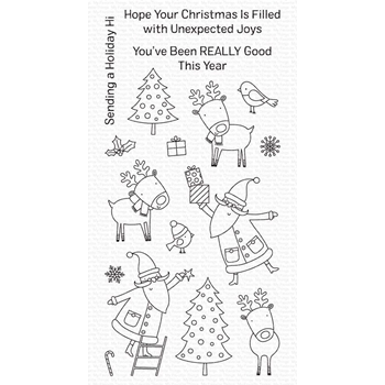 My Favorite Things JOYOUS HOLIDAYS Clear Stamps cs503