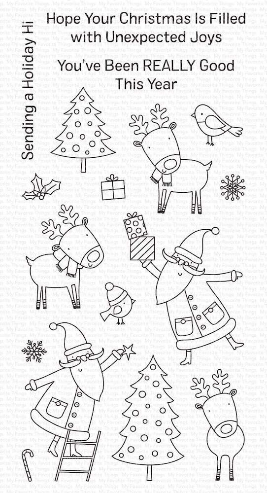 My Favorite Things JOYOUS HOLIDAYS Clear Stamps cs503 zoom image