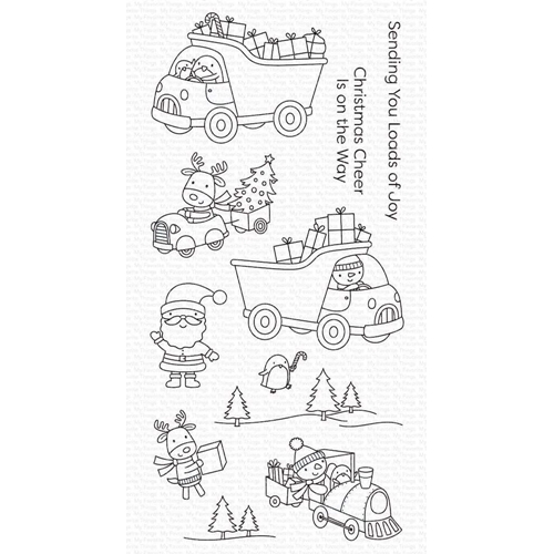 My Favorite Things LOADS OF JOY Clear Stamps cs501 Preview Image