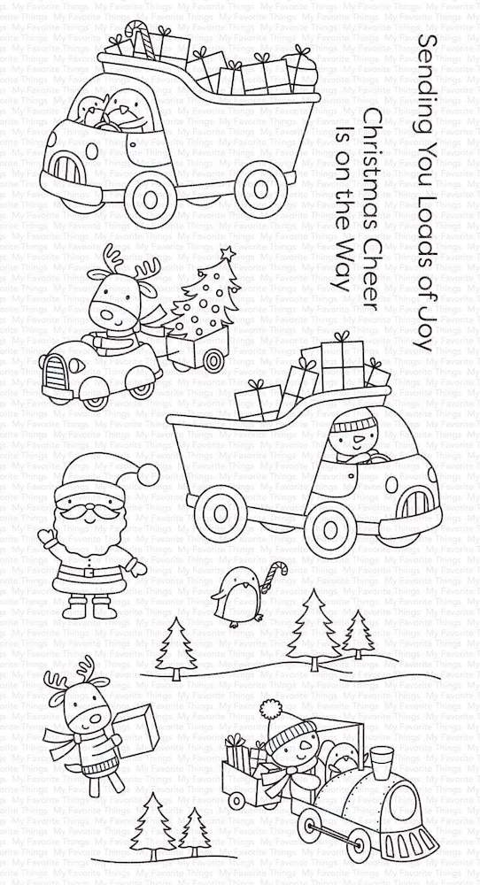 My Favorite Things LOADS OF JOY Clear Stamps cs501 zoom image