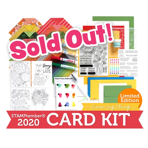Limited Edition Simon Says Stamp STAMPtember 2020 Card Kit ffssk20 Preview Image