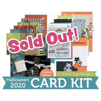 Limited Edition Simon Says Stamp Card Kit HAPPY HAUNTING Halloween hhck20