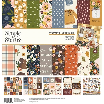 Simple Stories COZY DAYS 12 x 12 Collection Kit 13500*