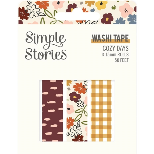 Simple Stories COZY DAYS Washi Tape 13524 Preview Image