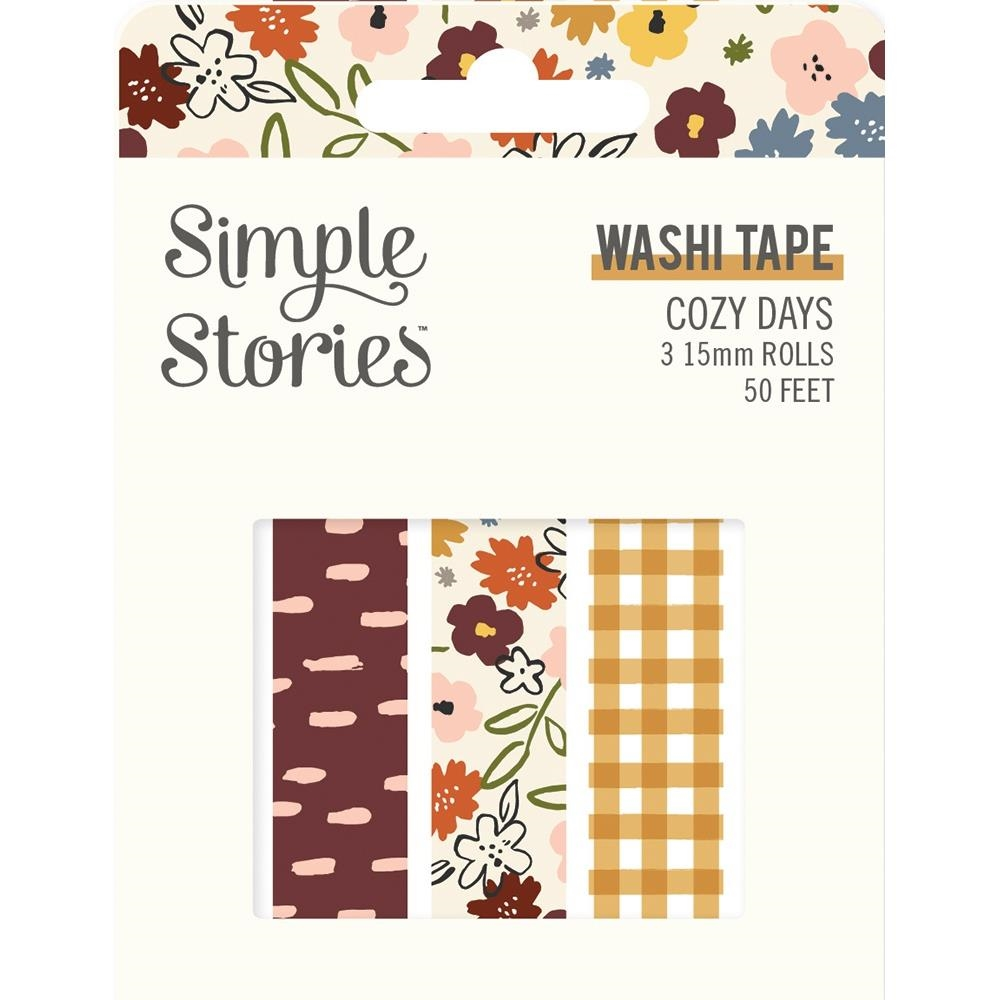Simple Stories COZY DAYS Washi Tape 13524 zoom image