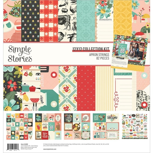 Simple Stories APRON STRINGS 12 x 12 Collection Kit 14000 Preview Image