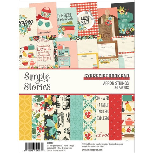 Simple Stories APRON STRINGS 6 x 8 Paper Pad 14014 Preview Image