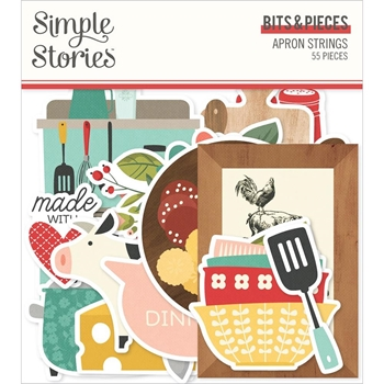 Simple Stories APRON STRINGS Bits And Pieces 14016