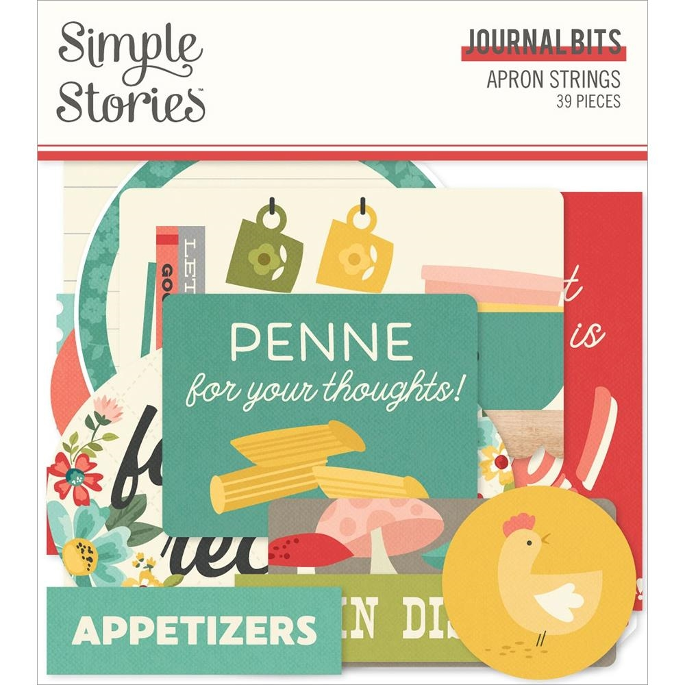 Simple Stories APRON STRINGS Journal Bits And Pieces 14017 zoom image