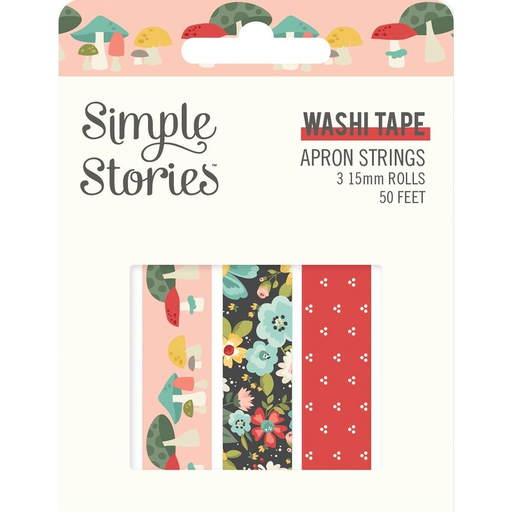Simple Stories APRON STRINGS Washi Tape 14020 zoom image