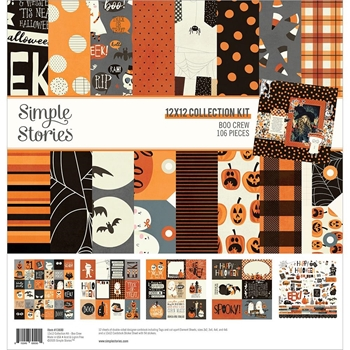 Simple Stories BOO CREW 12 x 12 Collection Kit 13800