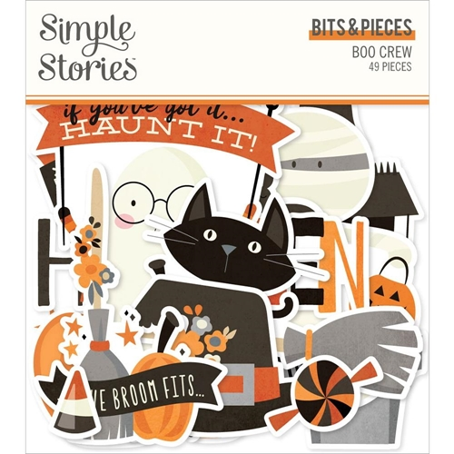 Simple Stories BOO CREW Bits And Pieces 13815 Preview Image
